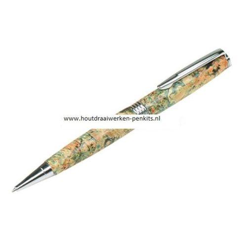 Chrome streamline pen kits