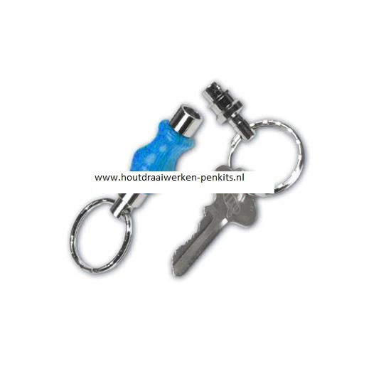 Detachable key chain kits