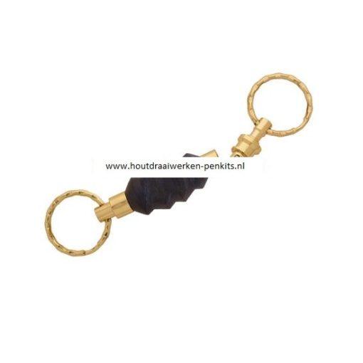 Gold detachable key chain kits