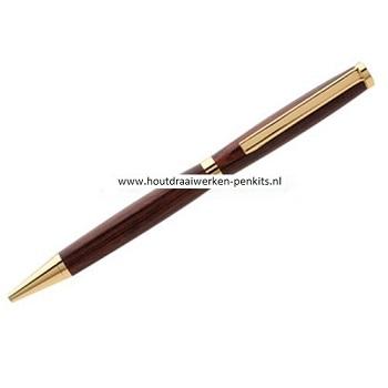 Slimeline pen kits goud