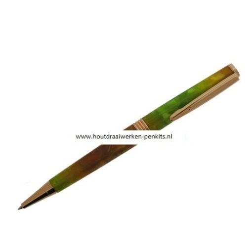 Streamline pen kits copper