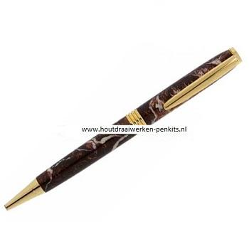 Streamline pen kits goud