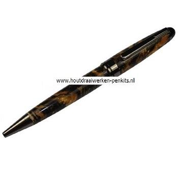 euro pen kits gun metaal