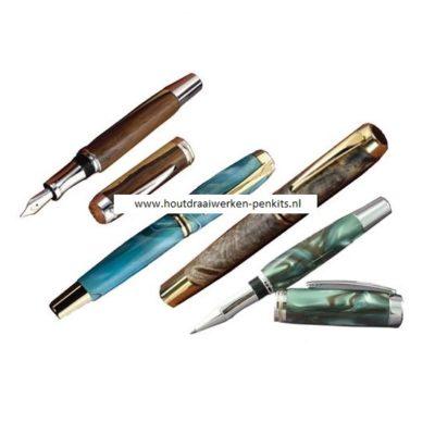 large jr gentleman fountain pen kits