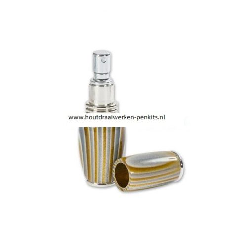 purse perfume atomizer kits chrome