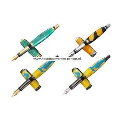 upgraded jr. gentleman I fountain rollerball pen kits