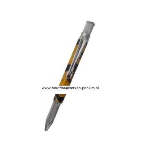 Annular twist pen kits chrome