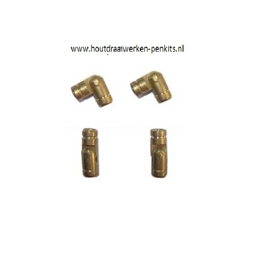 Mini Brass Hinges