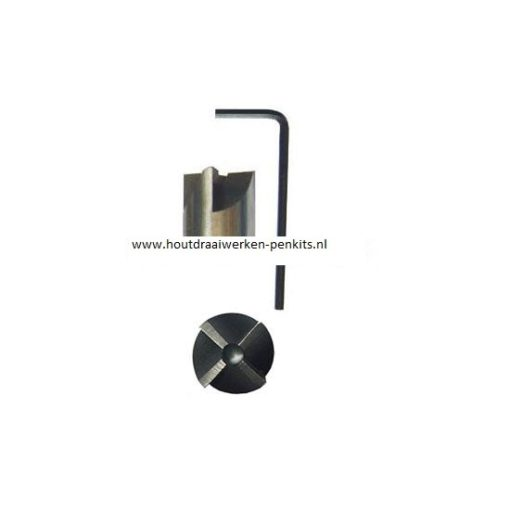 """PM002Pen mills 3/4"""" cutter head with 4 edges"""