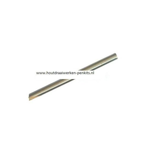 Pen mills HSS, Dia.:6.18mm, L:9.5cm. For 7mm pen tube