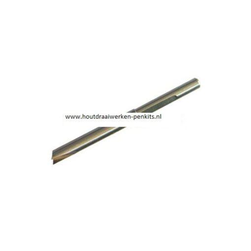 Pen mills HSS, Dia.:7.2mm, L:9.5cm. For 8mm pen tubes
