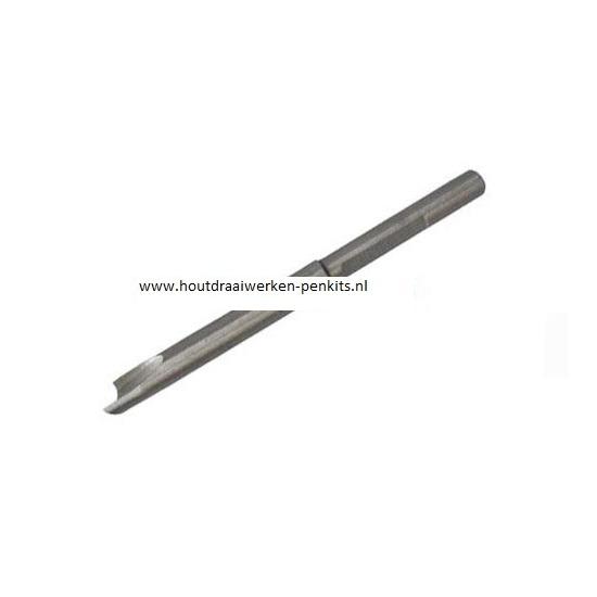 Pen mills HSS, Dia.:9.9mm, L:9.5cm. For 10.45mm pen tubes