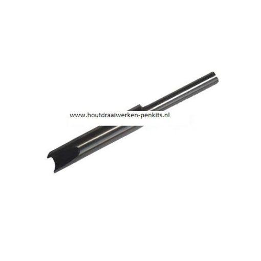 Pen mills HSS, Dia.:10.7mm, L:9.5cm. For 11.5mm pen tubes