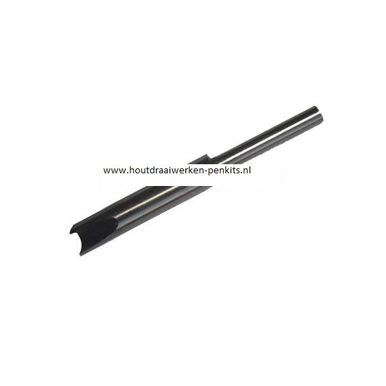 Pen mills HSS, Dia.:10.7mm, L:9.5cm. For 11.5mm pen tubes