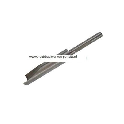 Pen mills HSS, Dia.:12.5mm, L:9.5cm. For 13mm pen tubes