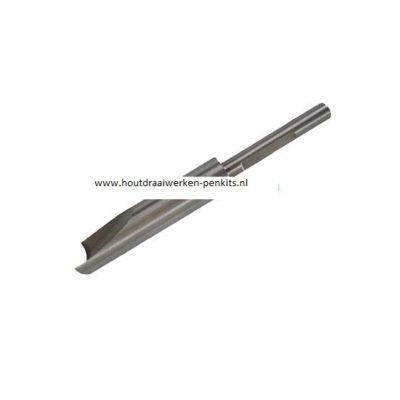 Pen mills HSS, Dia.:12.5mm, L:9.5cm. For 13mm pen tubes