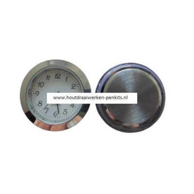 33mm Silver clock insert