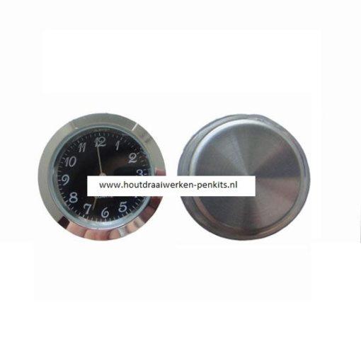 37mm Silver clock insert