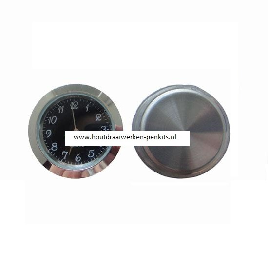 37mm Silver clock insert