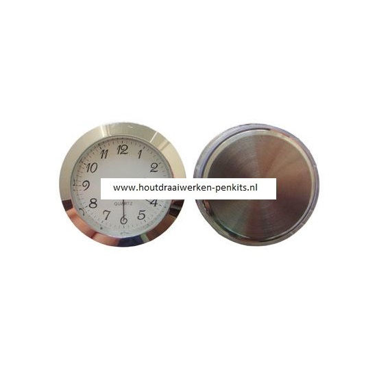 43mm Silver clock insert