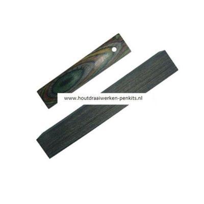 CWA01 Multicolor wood pen blank
