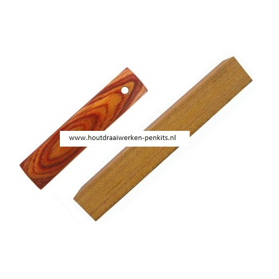 CWH16 Golden color wood pen blank