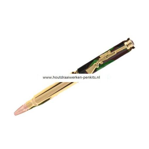 Twist bullet pen kits gold