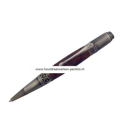 Prozx art deco pen kit Antique bronze +Gun polish