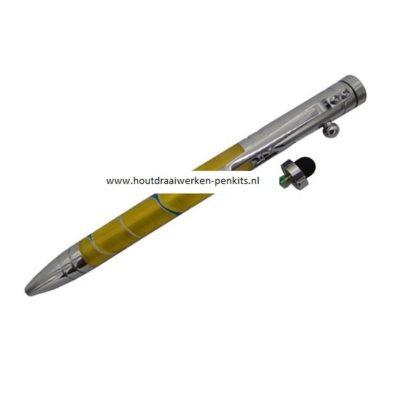 Rifle bolt pen kits Chrome