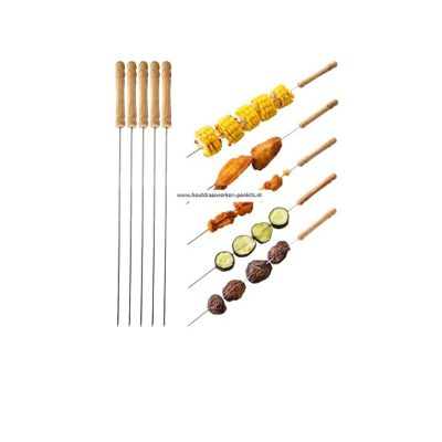 Stainless steel BBQ stick 1