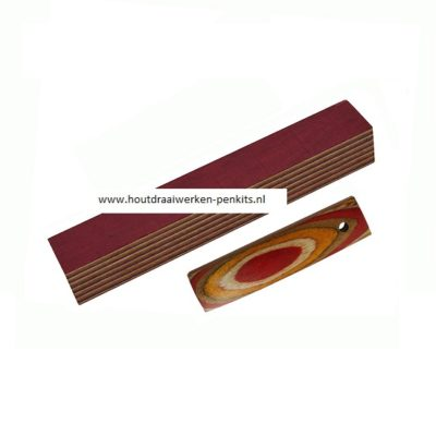 color wood pen blanks CWB589