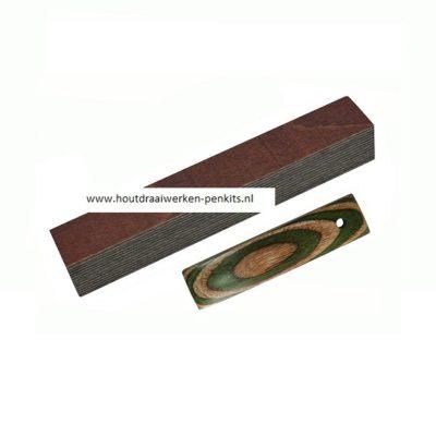 color wood pen blanks CWG13