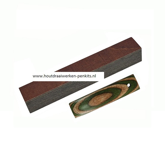 color wood pen blanks CWG13