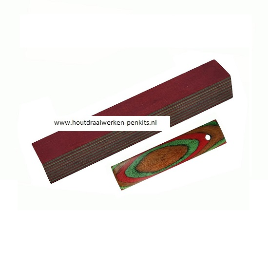 color wood pen blanks CWR99