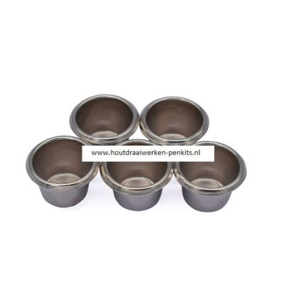 candle cups Nickel 18mm