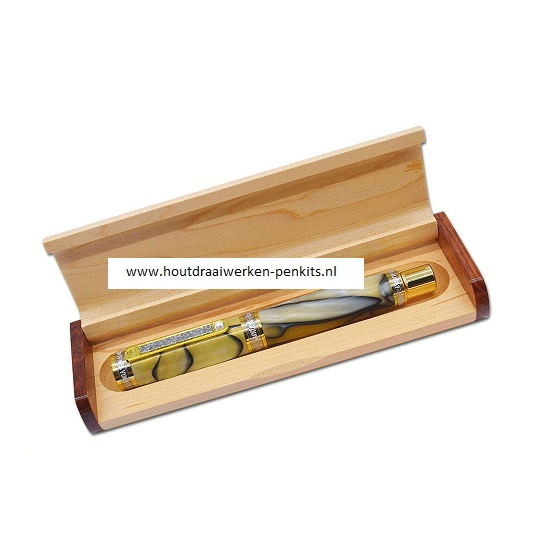 Pen box wood XL
