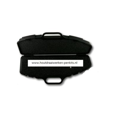 Rifle Case Pen Box in Black
