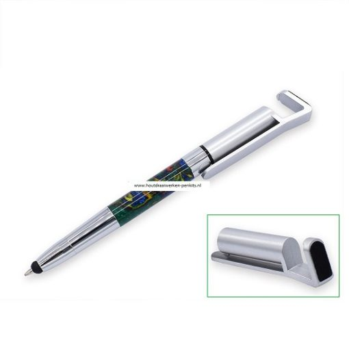 BPTS342 CH+Sil Stylus Phone stand pen kit