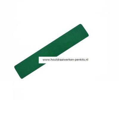 Green velvet pen sleeves