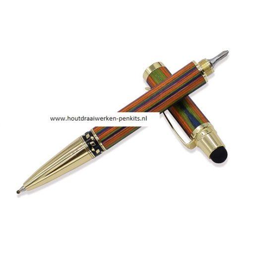 schroevendraaier stylus penkit goud